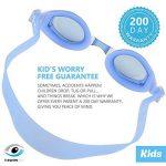 i-swim Pro Kids Swim Lunettes de natation et bonnet de bain, conçu spécialement pour les enfants avec longue durée de vie garantie, étanche, facile Sangles réglables et confortable de la marque image 2 produit