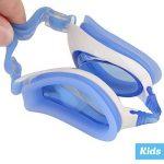 i-swim Pro Kids Swim Lunettes de natation et bonnet de bain, conçu spécialement pour les enfants avec longue durée de vie garantie, étanche, facile Sangles réglables et confortable de la marque image 3 produit