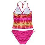 iEFiEL 2 pièces Maillot de bain Enfant Fille Tie-Dye Tankini Bikini Halter Motifs 8-16 Ans de la marque iEFiEL image 1 produit