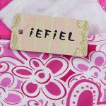 iEFiEL Mailot de Bain 3pcs Enfant Filles Halter Haut + Culotte +Jupe Tankini 2-14 Ans de la marque iEFiEL image 2 produit