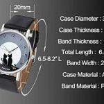 JSDDE Montre Chat Bracelet en Alliage Quartz Analogue de la marque image 4 produit