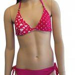 Les filles coeur rose Bikini/vêtements de bain. Les âges 7-16 ans de la marque C&C image 1 produit