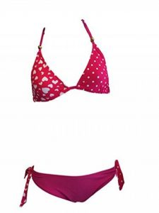 Les filles coeur rose Bikini/vêtements de bain. Les âges 7-16 ans de la marque C&C image 0 produit