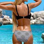 Lorin L2134/7 Maillot De Bain Deux Pieces Bikini Feminin Top Qualité Bicolore Taille Normale- Fabriqué En UE de la marque LORIN image 1 produit