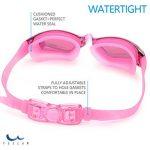 Lunettes de natation sans fuite, anti-buée et protection UV - Boîtier de protection - Pince-nez - Bouchons d'oreilles pour adulte et enfants de la marque lemi image 4 produit