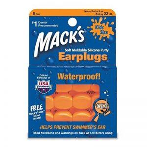 Macks - 3 Packs de 6 Bouchons d'Oreilles Piscine pour Enfants de la marque image 0 produit