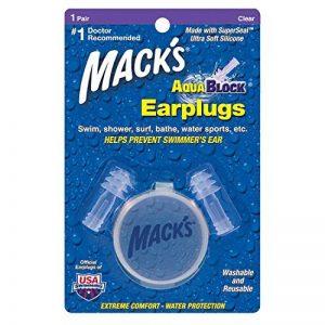 Macks Aqua Block Bouchons pour les oreilles pour natation de la marque image 0 produit