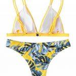 maillot de bain 1 pièce jaune TOP 2 image 1 produit