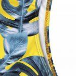 maillot de bain 1 pièce jaune TOP 2 image 3 produit