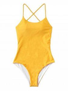 maillot de bain 1 pièce jaune TOP 6 image 0 produit