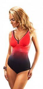 Maillot de bain pour femme une piece, bonnets de soutien-gorge modelant la poitrine - bonnets rigides renforces de la marque Aquarilla Societe image 0 produit