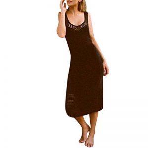 Malloom Bikini Couvrir Femme Pure Crochet manuel en tricot creuxRobe de plage solaire de la marque Malloom®_Plage image 0 produit
