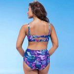 Malloom Maillot de bain rembourré maillot de bain femme taille plus Maillots de bain push up bikini de la marque Malloom®_Plage image 2 produit