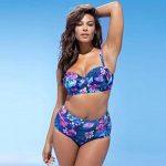 Malloom Maillot de bain rembourré maillot de bain femme taille plus Maillots de bain push up bikini de la marque Malloom®_Plage image 1 produit