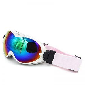 Masque de ski, Spohife motoneige Snowboard Skate Lunettes de natation pour homme et femme anti-buée anti-UV amovible Large sphérique Verre de rechange pour lunettes de la marque image 0 produit