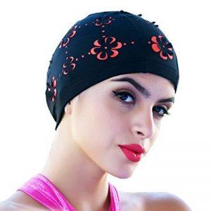 medifier Hollow Out Fleurs Bonnet de bain pour cheveux courts et longs Bonnet de bain de la marque image 0 produit