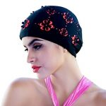 medifier Hollow Out Fleurs Bonnet de bain pour cheveux courts et longs Bonnet de bain de la marque image 1 produit