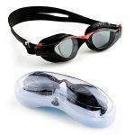 Mee'sport Jeu de lunettes de natation pour enfants,Avec antibrouillard Protection UV lunettes de natation Bonnet de bain Jeux de jouets Équipement de triathlon Pour Jeunesse Des gamins Garçons Filles de la marque image 1 produit