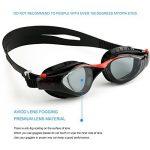 Mee'sport Jeu de lunettes de natation pour enfants,Avec antibrouillard Protection UV lunettes de natation Bonnet de bain Jeux de jouets Équipement de triathlon Pour Jeunesse Des gamins Garçons Filles de la marque image 2 produit