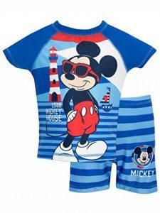 Mickey Mouse - Maillot de bain deux pièces - Disney Mickey Mouse - Garçon de la marque Disney image 0 produit