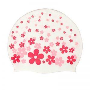 Moolecole Bonnet de bain imperm&eacuteable en PU mignon avec élastique, motif cartoon, pour enfant fille de la marque image 0 produit