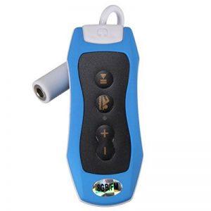 MP3 Music Player - SODIAL(R)8GB Lecteur MP3 Natation Plongee sous-marine Spa Radio + FM etanche Casque bleu de la marque image 0 produit