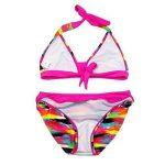 OMSLIFE 2 pièces Maillot de bain Enfant Fille Tie-Dye Tankini Bikini Halter Motifs 8-16 Ans de la marque OMSLIFE image 2 produit