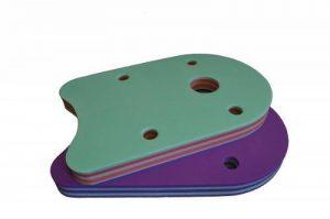 Planche de natation classique 48x 30x 38Baby, enfants, adultes Vert Green–Stripes–Rayures de la marque Babysplash image 0 produit