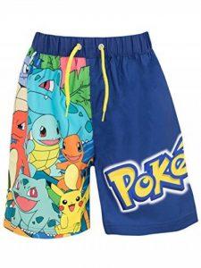 Pokemon - Shorts de bain - Pokemon - Garçon de la marque Pokemon image 0 produit