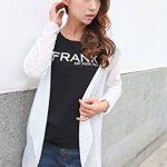 Qingsun Tops à manches longues Anti-UV Veste de Sport Femme Légère Pratique-Blanc de la marque Qingsun image 3 produit