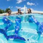 Queues de sirène en édition limitée - tailles enfant/adulte - avec monopalme/pour nager de la marque Fin Fun image 4 produit