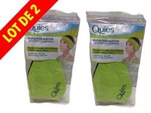 QUIES - protection auditive bandeau d'oreilles - grande taille - 2 Bandeaux de la marque image 0 produit