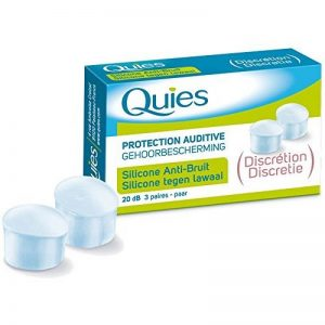 Quies Protection Auditive Silicone Anti Bruit 3 Paires de la marque image 0 produit
