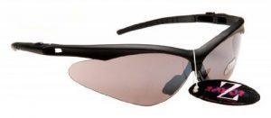 Rayzor Professional - Lunettes de soleil de sport spécial running ultra-légères à verres miroirs fumés anti réverbération - UV 400 - Noir de la marque Rayzor image 0 produit