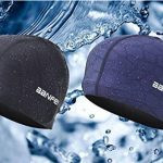 SheShy Hommes Flexible Imperméable Résistant à l'humidité Bonnet de natation de taille adulte Fibre de coton Bonnet de bain de la marque image 2 produit