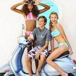 Snapper Rock Maillot de bain 2pièces pour fille volants de bandeau, bleu de la marque Snapper image 1 produit