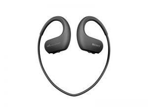 Sony Walkman NW-WS413 - Lecteur MP3 Intégré à des Ecouteurs - Etanche - 4 Go - Noir de la marque image 0 produit