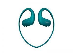 Sony Walkman NW-WS413 - Lecteur MP3 Intégré à des Ecouteurs - Etanche - 4 Go - Bleu de la marque image 0 produit