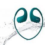Sony Walkman NW-WS413 - Lecteur MP3 Intégré à des Ecouteurs - Etanche - 4 Go - Bleu de la marque image 2 produit