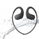 Sony Walkman NW-WS413 - Lecteur MP3 Intégré à des Ecouteurs - Etanche - 4 Go - Noir de la marque image 2 produit