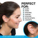 SoundBarren Bouchons d'oreille, 28 dB protection auditive haute fidélité pour dormir, ronflement, Motos, les concerts, et de les musiciens de la marque image 5 produit