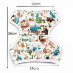 Storeofbaby Pantalons de natation réutilisables de couches de bébé pour le nouveau-né 0-36 mois de la marque Storeofbaby image 4 produit