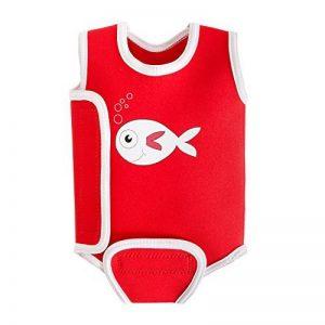 Swimbest plongée bébé/bébé Wrap Permet de garder le bébé au chaud dans l'eau pour fille et garçon–0–6, 6–12et 12–24mois de la marque Swimbest image 0 produit