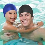 Swimtastic Bonnet de natation en silicone pour enfants et adultes de la marque image 2 produit