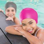 Swimtastic Bonnet de natation en silicone pour enfants et adultes de la marque image 3 produit