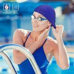 Swimtastic Lycra bonnet de natation - 5couleurs au choix de la marque image 2 produit