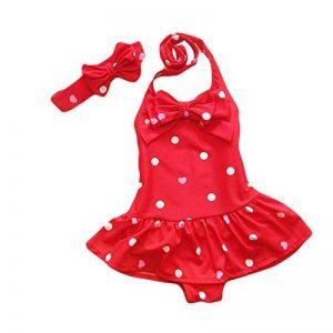 taiyc yxgan Baby Maillot de bain pour fille enfant princesse robe de bain Vêtements Set de Bain avec bandeau de la marque TAIYCYXGAN image 0 produit