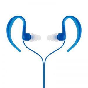 étanche Écouteurs, AGPtek Se01IPX8casque avec crochet d'oreille pour le sport et la natation, Bleu de la marque image 0 produit