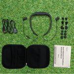 Tayogo étanche casque Bluetooth et lecteur MP38Go et lecteur FM pour natation Surf randonnée Course, noir de la marque image 1 produit