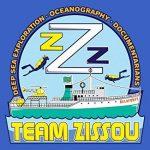 Team Zissou Tee-Shirt Homme inspiré par La Vie aquatique de la marque Grindstore image 2 produit